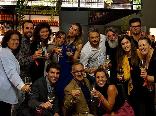 Zoom out Lounge, das erste Lamigraf Event auf der Tortona Design Week