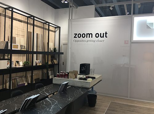 Lamigraf launches Zoom Out, the new décor selection, which is presented at Interzum Guangzhou