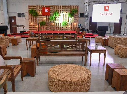 Grand opening event of the new Lamigraf Do Brasil plant